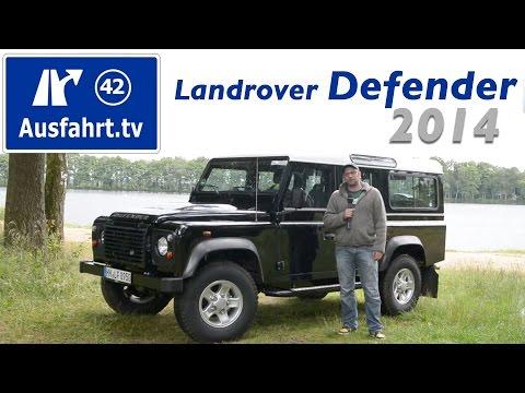 2014 Landrover Defender 110 Station Wagon - Fahrbericht der Probefahrt  Test   Review (German)