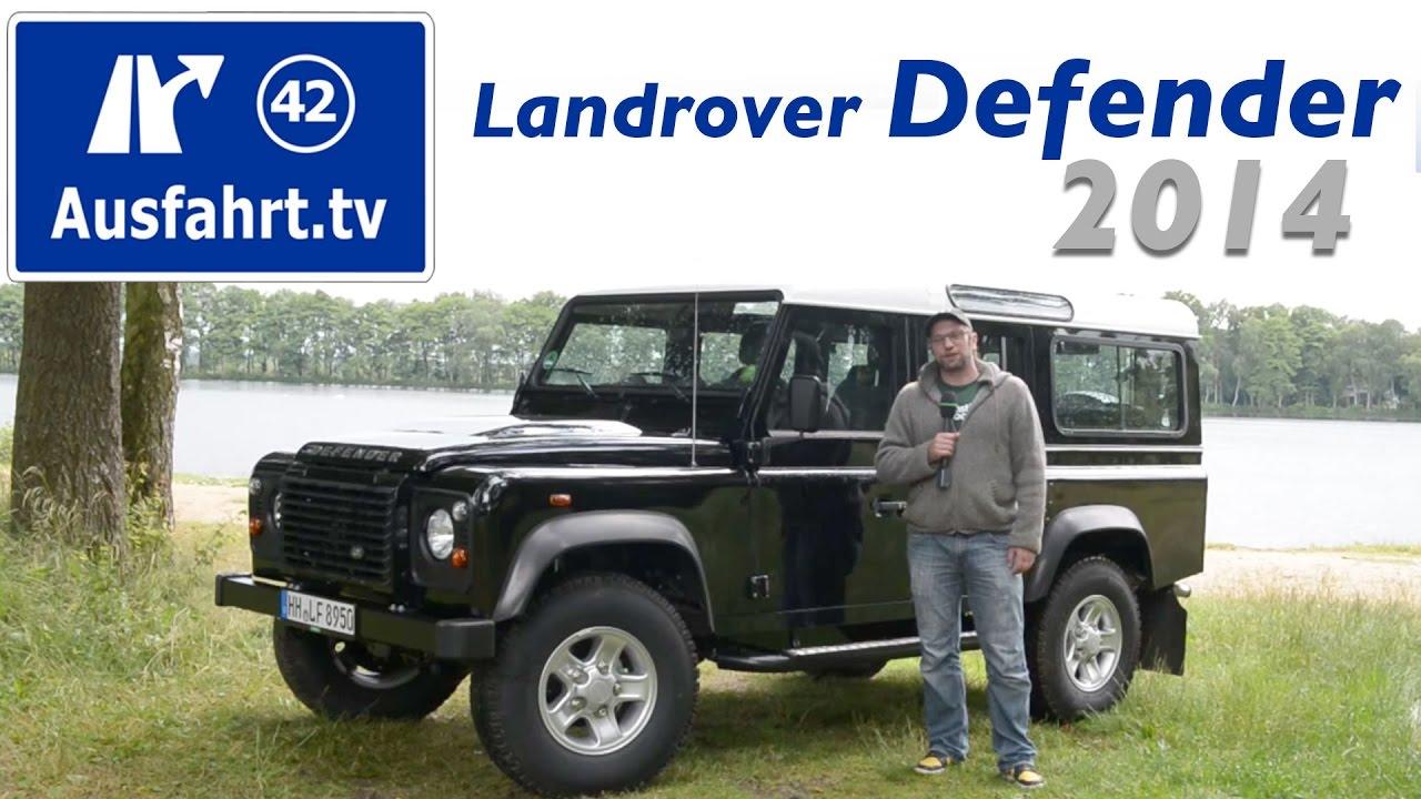 2014 Landrover Defender 110 Station Wagon Fahrbericht