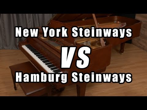The Difference Between New York and Hamburg Steinways