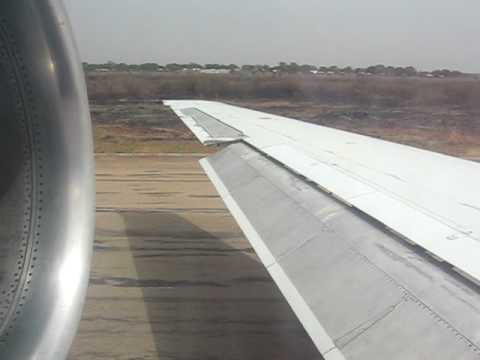 East African Safari Air Express DC-9-14 5Y-XXB Take-off from Juba, Sudan
