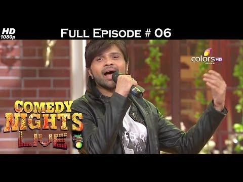 Comedy Nights Live - Himesh, Neha Kakkar & Sunidhi Chauhan- 6th March 2016 - Full Episode