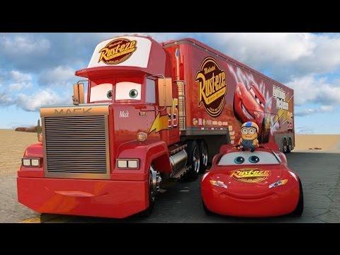 Video cami n rayo mcqueen cars mack truck juguetes para ni os lightning toys disney pixar kids - Cars camion mack ...