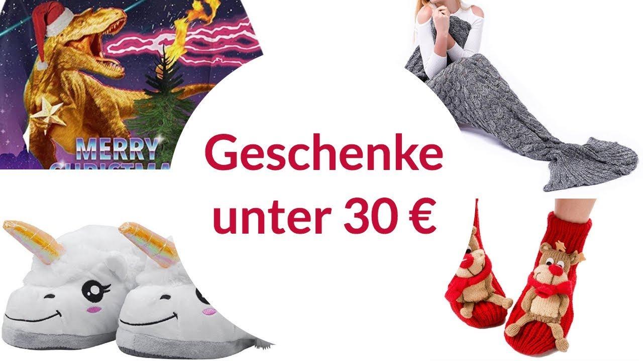 Weihnachtsgeschenk Ideen für unter 30 EUR 🎁 Amazon - YouTube