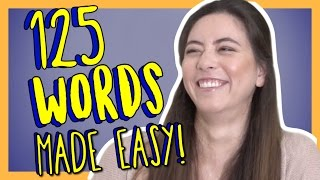 Learn 125 Intermediate German Words with Alisa! German Vocabulary Made Easy