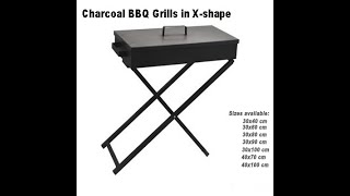 Charcoal BBQ Grill in Big X-shape(DS-10)