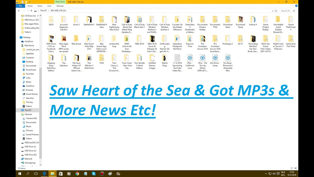 Saw Heart of the Sea & Got MP3s & More News Etc! [HD]