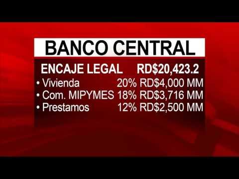 BC dispuso desembolsar RD$20,000 mm para prestamos a diferentes sectores