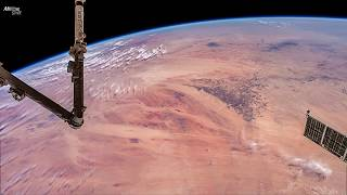 4K Time-Lapse Earth From Space : Russia , Israel, Egypt