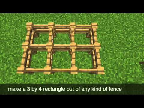 How to make a minecraft pe fish tank youtube for How to fish in minecraft pe
