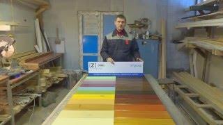 покраска деревянного дома(На примере выставочного стенда показано как красить деревянный дом., 2014-03-03T18:50:34.000Z)