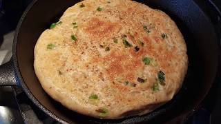 健康蔥油餅 - Healthy Scallion Pancake