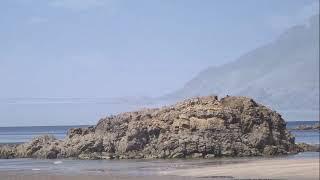 Playa de cueva  -  Valdes ( Luarca )   Viajando por Asturias