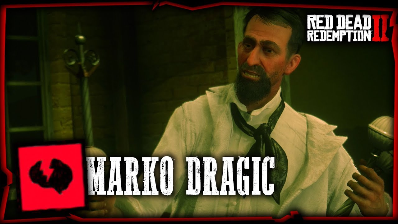 RED DEAD REDEMPTION 2 : TROPHÉE INTELLIGENCE ARTIFICIELLE ( Marko Dragic )