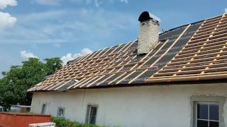 2016.08 až 11 - oprava střechy