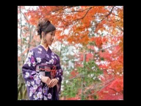 Japanese girls with  and without kimono
