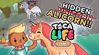 Toca Life Stable [Hidden U̶n̶i̶c̶o̶r̶n Alicorn]