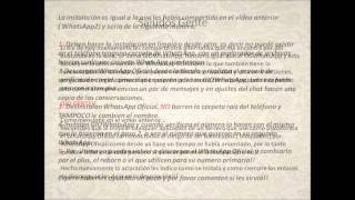 Alternativa OGWhatsApp Caducado ( GIOWhatsApp)