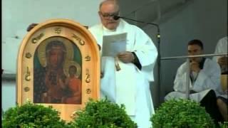 2014-08-03 Trzebnica - Kazanie ks. Orzecha podczas porannej Mszy Świętej