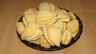 Творожное печенье, простой рецепт