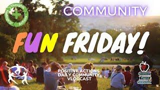 🥳 Fun Friday! Week 36💜 Community, comunidad ⏰ May 28, 2021