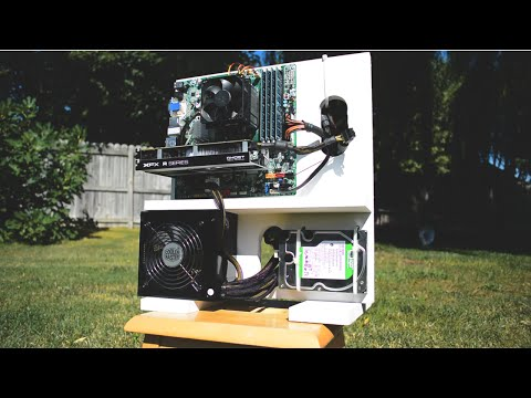 How to make a $10 DIY Wooden Gaming PC Case!
