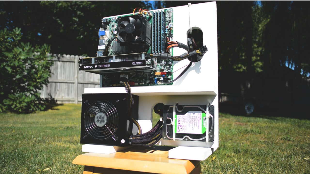 Do-It-Yourself CPU Cabinet
