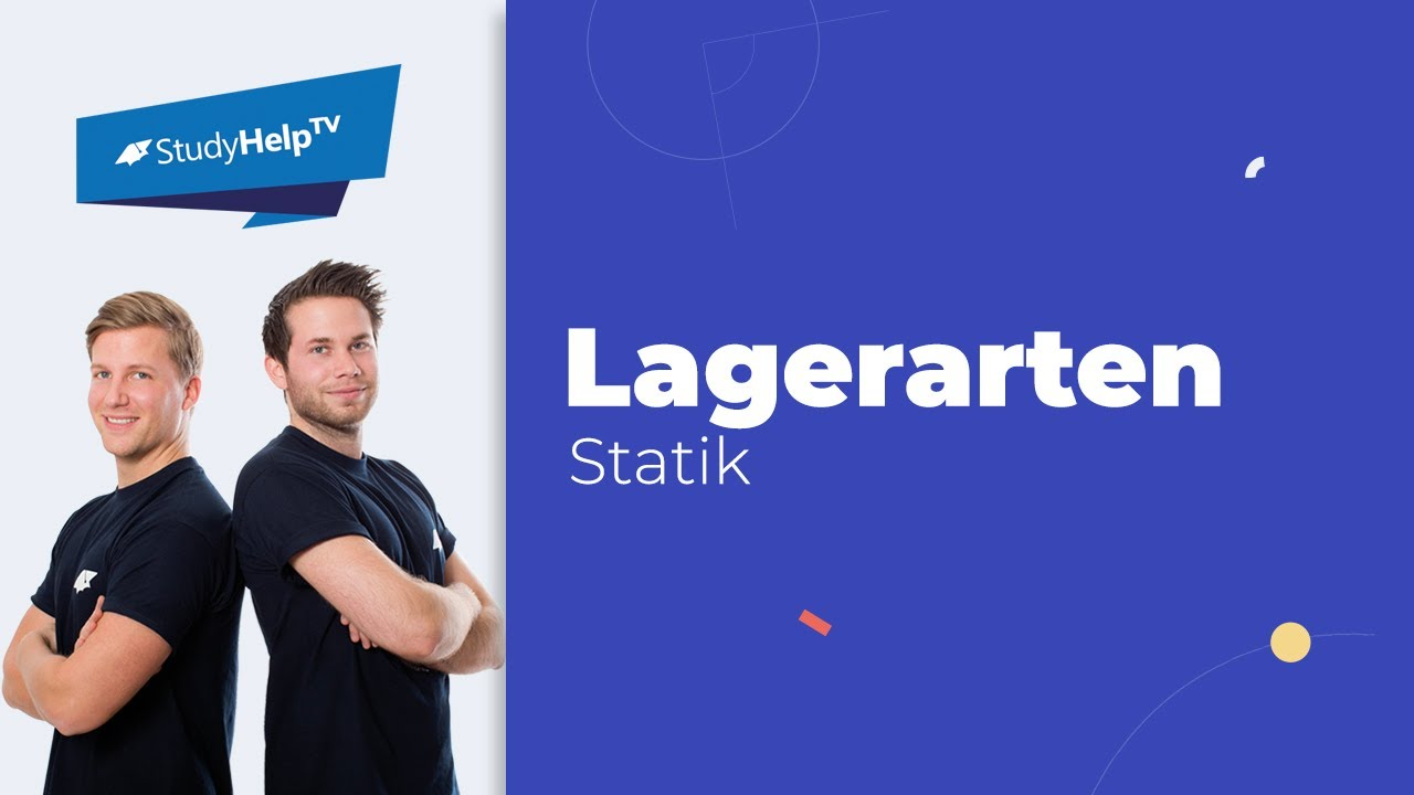 Lagerarten grundlagen der technischen mechanik statik for Statik mechanik