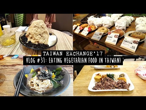 TAIWAN EXCHANGE | VLOG #31: VEGETARIAN FOOD in TAIPEI (我們一起在台北吃素吧!)