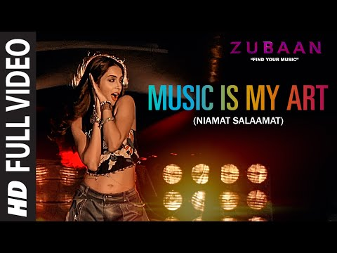 Music Is My Art (Niamat Salaamat) Full Video Song | ZUBAAN | Sarah Jane Dias,Vicky Kaushal |T-Series