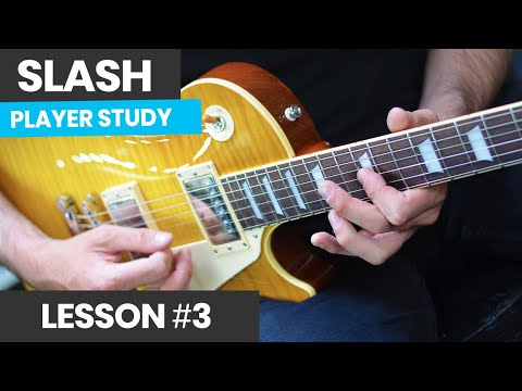 How To Play Like Slash [Slash Course Lesson 3] Fast Rock Lead Guitar