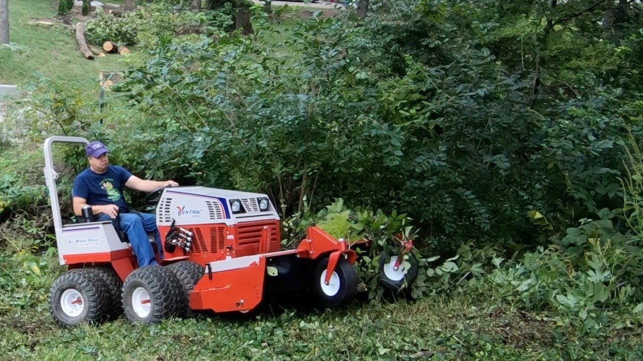 Bet YOU Can't Mow This! Compact Tractors Can't Do This!!