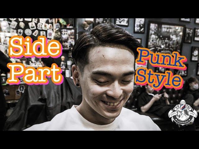 Tóc Nam Hớp Hồn Phái Nữ | Side Part 2019 | Barbershop Vũ Trí