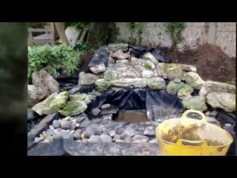Aqua Design Landscaping Irish water warn natural pond Surrey