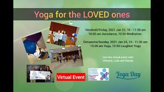 Yoga for the LOVED ones 2021 #YFTLO2021