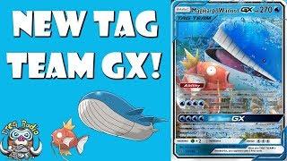 Magikarp & Wailord Tag Team GX Is Coming!! (New Pokemon GX)