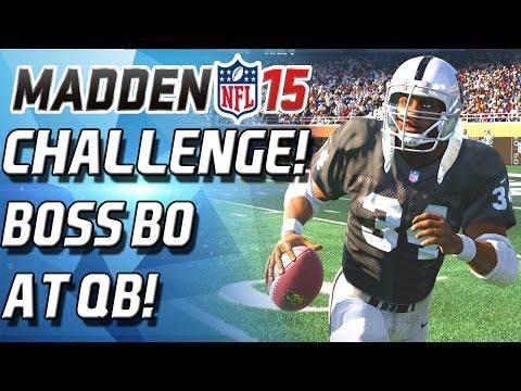 BOSS BO JACKSON AT QUARTERBACK CHALLENGE! - Madden 15 Ultimate Team