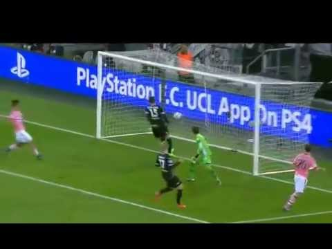 Stephan Lichtsteiner first-time goal - Highlights B.Monchengladbach vs Juventus
