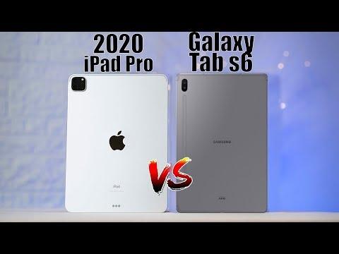 Apple IPad Pro 2020 ПРОТИВ Samsung Galaxy Tab S6. Сравнение планшетов. Какой купить?