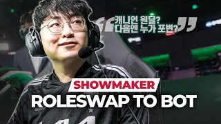 DK ShowMaker: Why he ROLESWAPPED TO BOT from Mid, Ghost's reaction