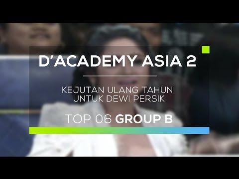 Kejutan Ulang Tahun untuk Dewi Persik (D'Academy Asia 2)