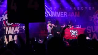 "Big Sean, Pusha T ""Mercy"" @Hot 97 Summer Jam"