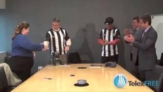 TelexFree テレックスフリーがブラジルの有名なサッカーチーム Botafogo...