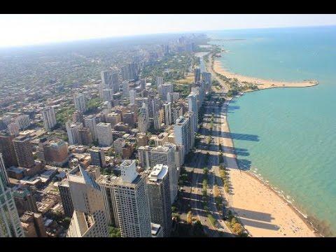 """USA КИНО 1055. Видеозарисовка. Прогулка по центру """"города ветров"""" Чикаго"""