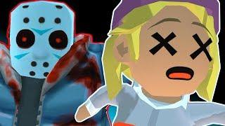 - Страшный день ПЯТНИЦА 13 мобильная версия игры Джейсон Вурхиз нападает на лыжников и сноубордистов