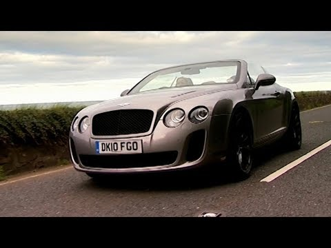 Trying The Bentley Continental Supersports In Ireland - Fifth Gear