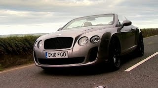 Trying The Bentley Continental Supersports In Ireland Fifth Gear смотреть