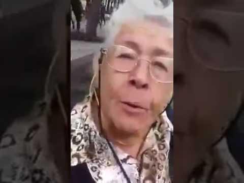 lo que piensa una anciana de 87 años del gobierno mexicano