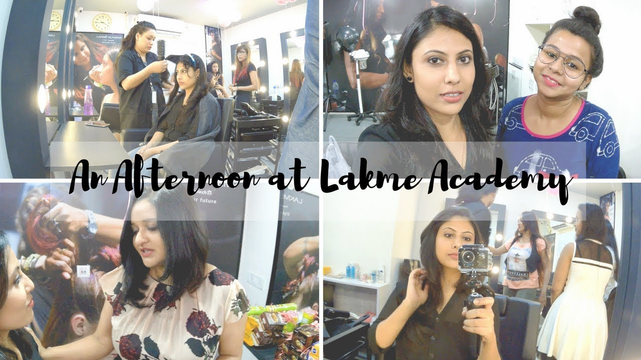 An Afternoon at Lakme Academy, Kolkata | VLOG #2 | Sayantini B