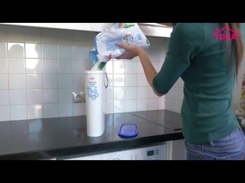 Контейнер для стирального порошка   idea-home.ru