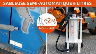 Présentation sableuse semi automatique B-B_6